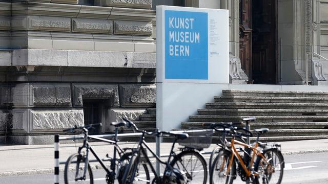 entrada dal Museum d'art a Berna
