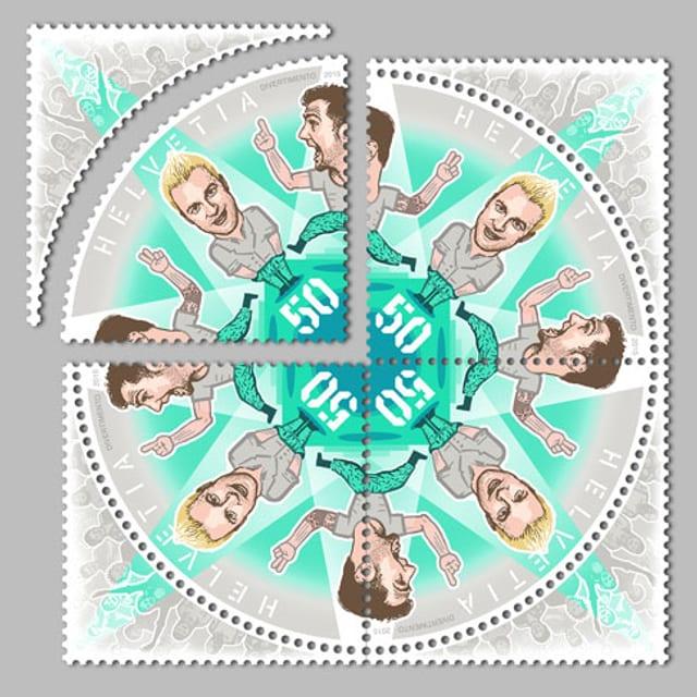 Briefmarke von Divertimento