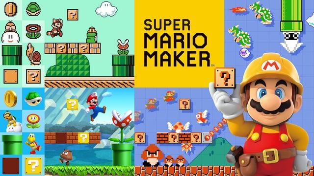 Mario-Level bauen und zwischen verschiedenen Erscheinungsbildern hin- und herschalten.