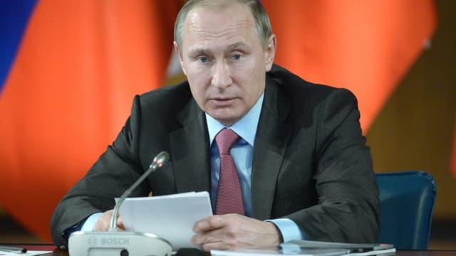 Portrait da Putin.