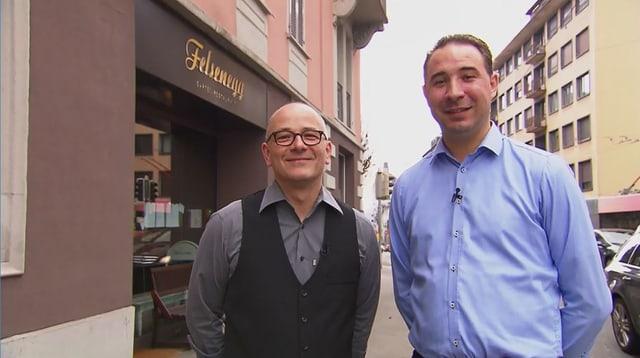 Video «Gewinner Spezial – Tag 2 – Restaurant Felsenegg, Luzern» abspielen