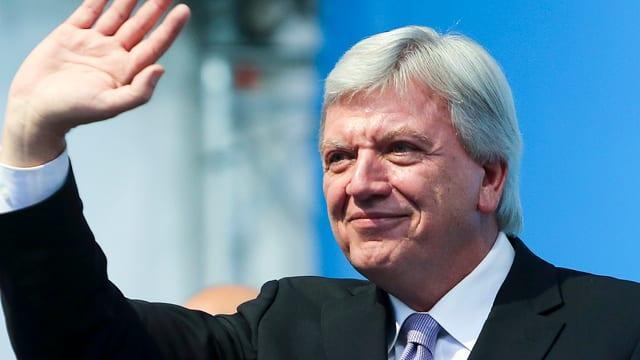 Hessens CDU-Regierungschef Volker Bouffier.