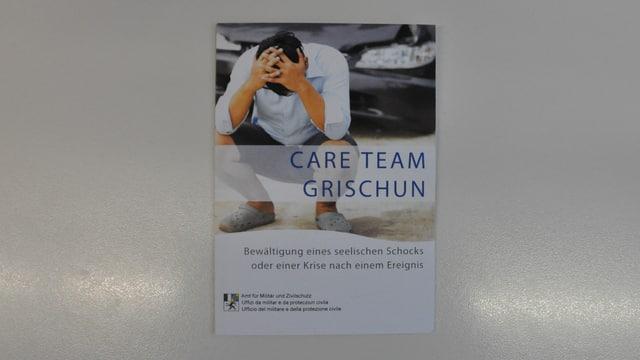 Brochura dal Care Team Grischun.