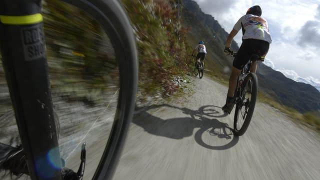 Maletg simbolic: La cursa da mountainbike sin il Mittenberg datti dapi il 1990.