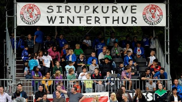 Sirupkurze im Stadion Schützenwiese Winterthur