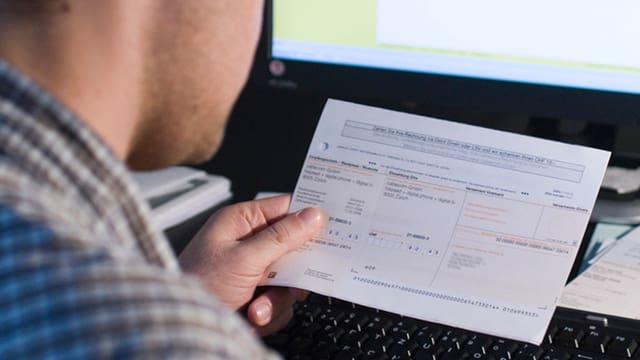 Papier-Rechnungen: