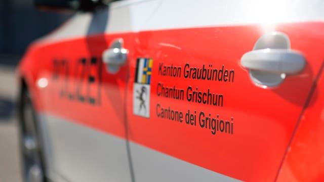Polizeiauto Kapo Graubünden