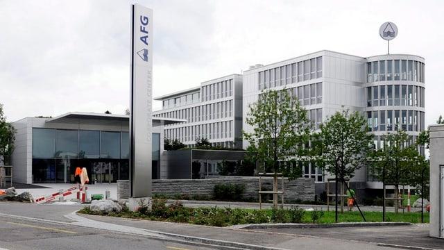 Das Hauptgebäude der AFG.