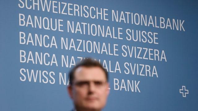 Logo der SNB mit Jordan im Vordergrund