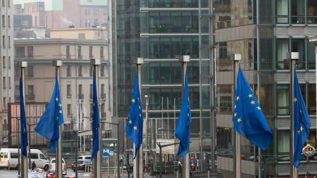 Bandieras UE.