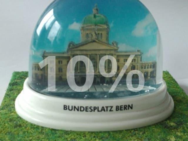 Schneewahrscheinlichkeit auf dem Bundesplatz Bern: 10%