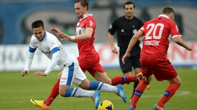 Der FC Zürich empfängt im 1. Spiel 2014 den FC Sion.