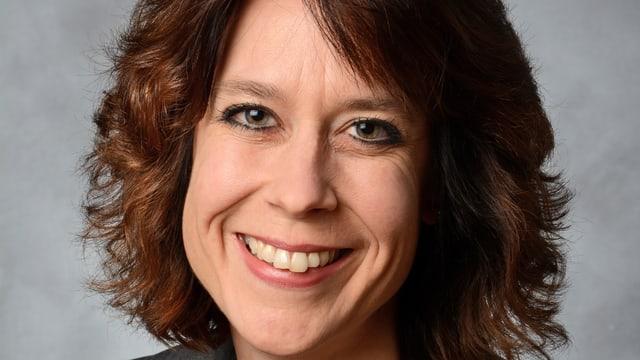 Porträtbild von Corinne Troxler Gulzar, neue Sekretärin bei der ZRK.