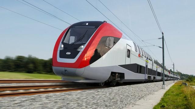 Doppelstockzug von Bombardier.