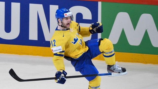 Fredrik Pettersson stürmt neu für den HC Lugano.