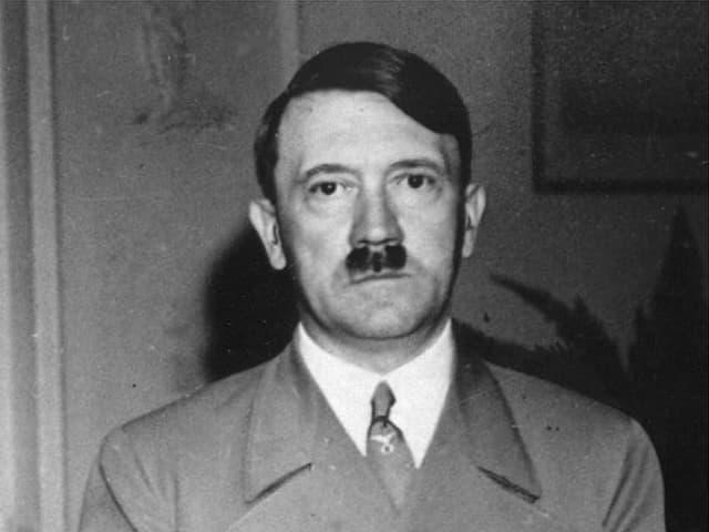 Adolf Hitler im Portrait.
