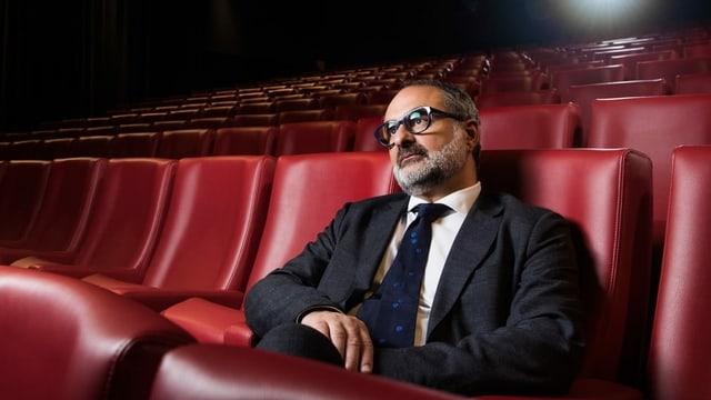 Giona Nazzaro, il nov directur artistic dal Festival da film da Locarno.