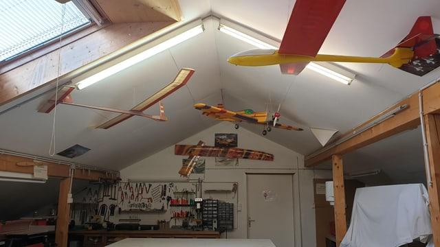 Vereinslokal der Modellflieger