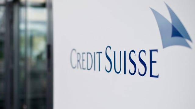 Credit Suisse Schriftzug und Logo