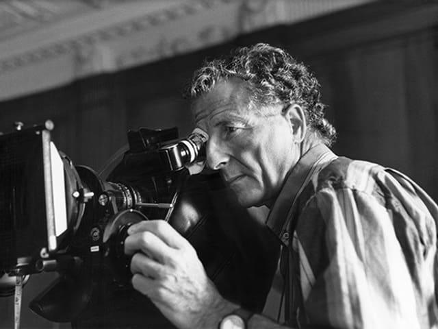 Rolf Lyssy an der Kamera