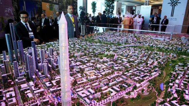 Modell einer Stadt