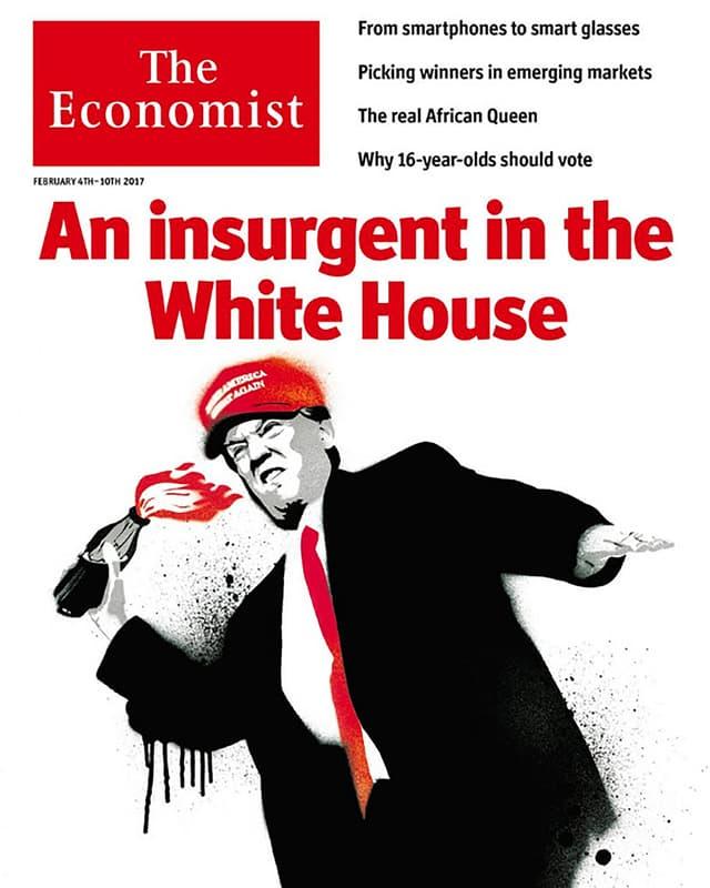 Die Titelseite des «The Economist»