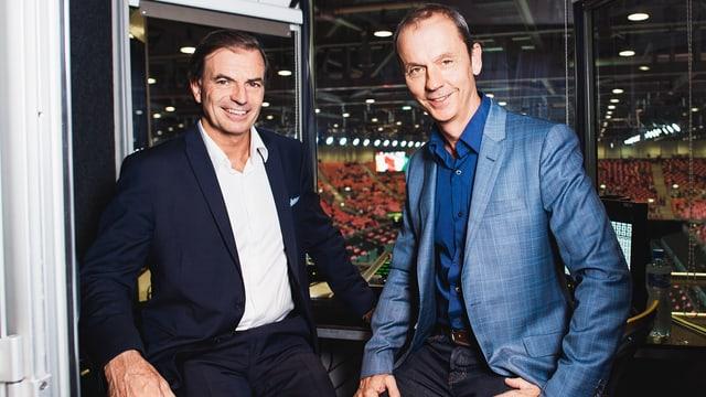 Heinz Günthardt und Stefan Bürer.