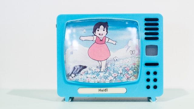 Heidi ist populär im Film, Fernsehen und als Comic. Auch die Flumserberge wollen vom Heidi profitieren.