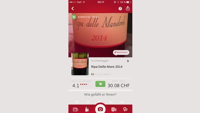 Wein-Apps