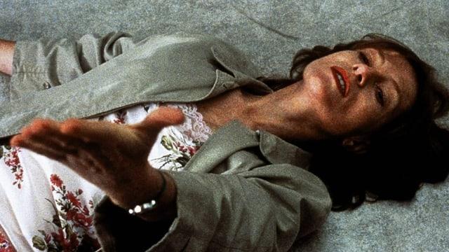 "Isabelle Huppert in Michael Hanekes Film ""La Pianiste"", nach..."