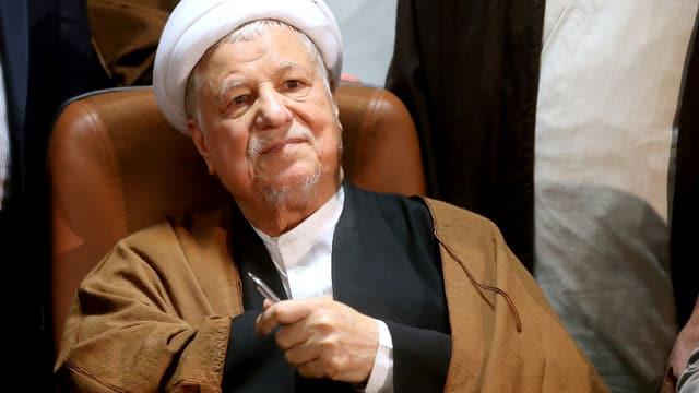 Der Ex-Präsident Rafsandschani.