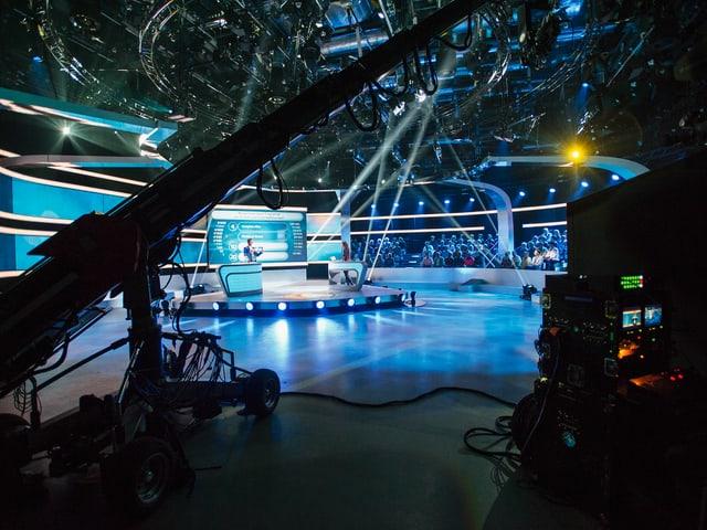 Kameras im Top Secret Studio