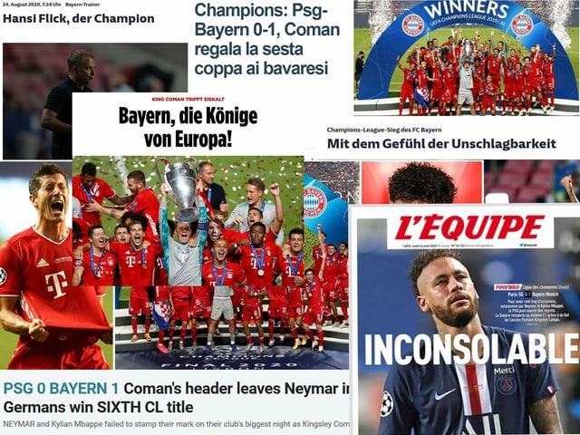 Ein Blick auf die Schlagzeilen vom Montag.