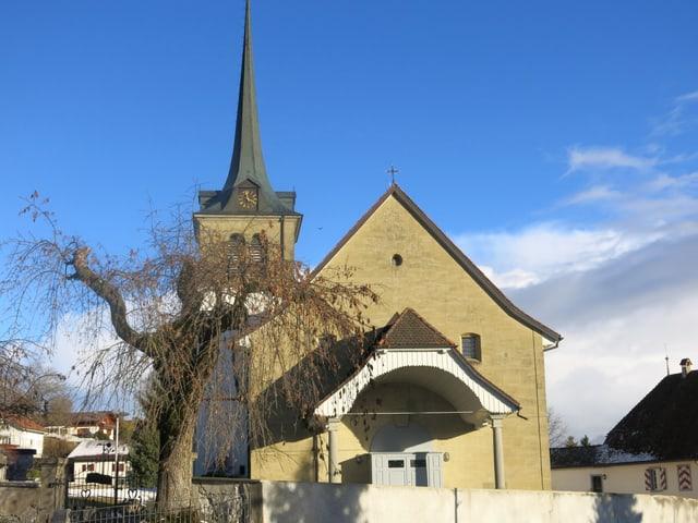 Eine Kirche.