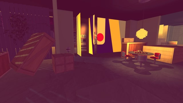 Spielszene aus dem Game «Sunset».
