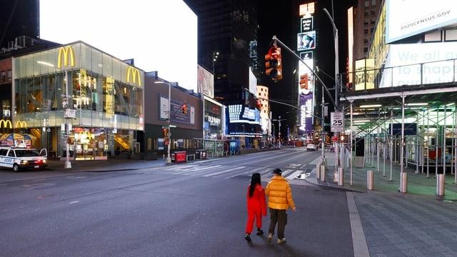 Times Square vit