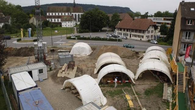 Auf rund 1600 Quadratmetern hat die Aargauer Kantonsarchäologie zahlreiche Funde gemacht.