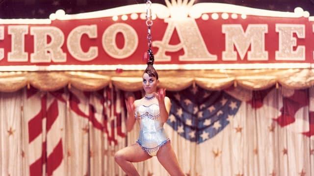 In den 1970er-Jahren war die Haar-Artistin Josefina Tanasa in fast jedem Zirkus der Welt eine grosse Attraktion.