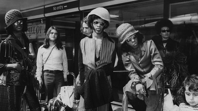 Larry Graham mit Sly & the Family Stone.