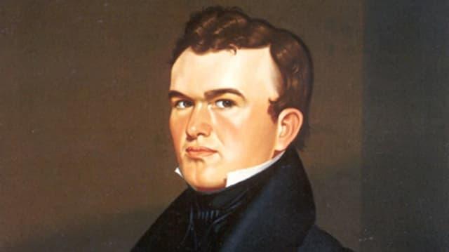 Ein Porträt von George Caleb Bingham.