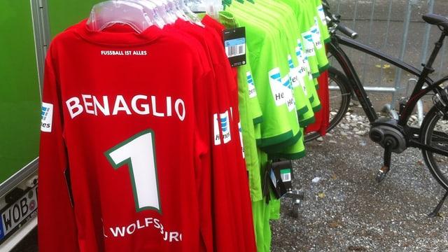 Il tricot dal goli Diego Benaglio vid in portavestgadira.