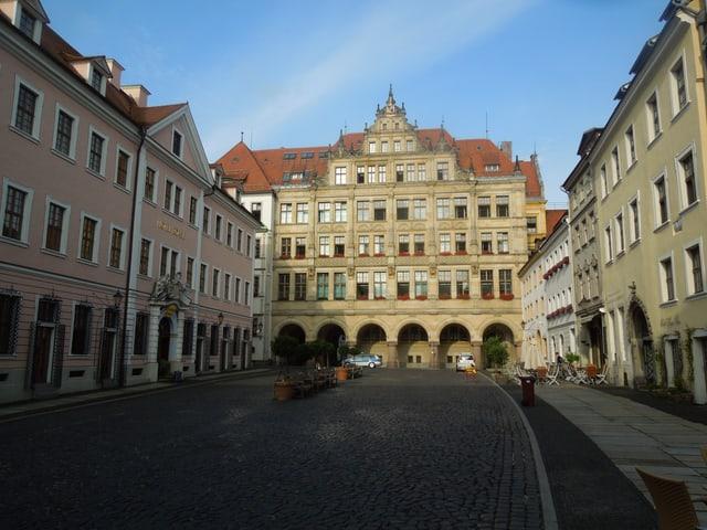 Rathausplatz von Görlitz