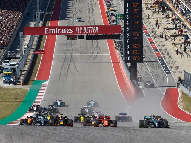 Die Formel 1 will den Ruf als Klimasünder loswerden.