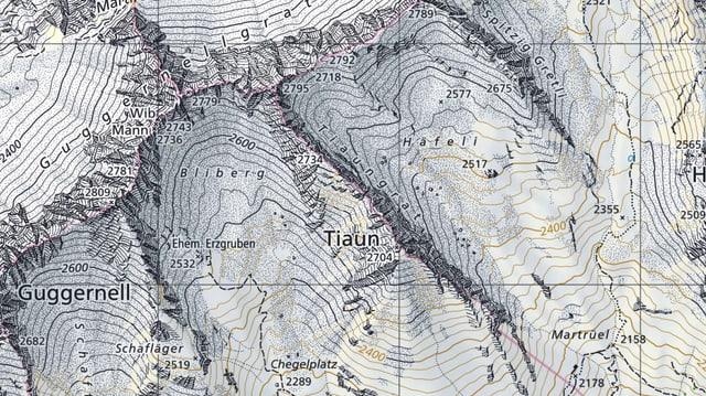 Carta geografica.