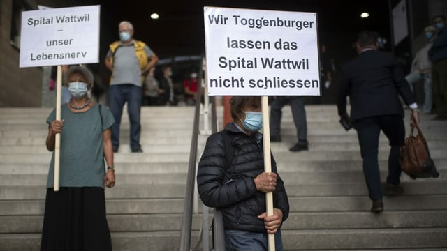 Am Spital Wattwil wird nicht weitergebaut