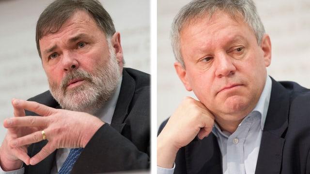 Jean-Paul Gschwind und Pierre-Alain Fridez