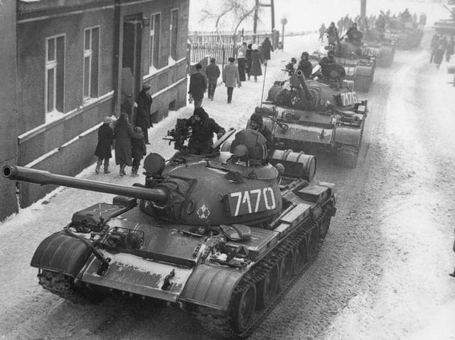 Panzer in Polen