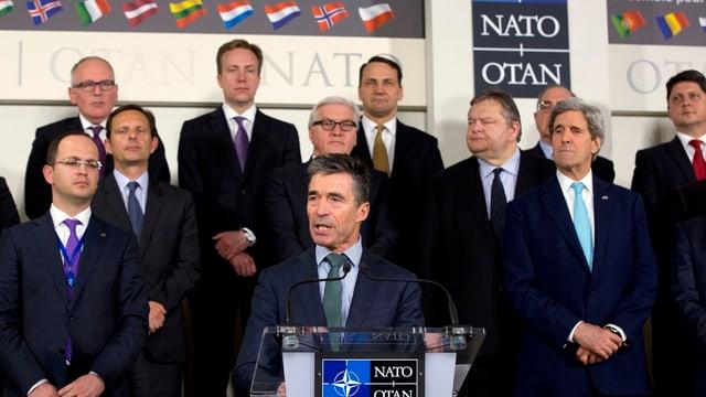 Nato-Aussenminister.