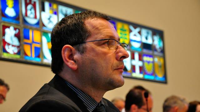 Filip Dosch da Cunter, il deputà en Cussegl grond.