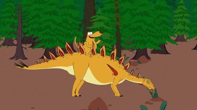 Video «Ralph und die Dinosaurier: Lexovisaurus (12/26)» abspielen